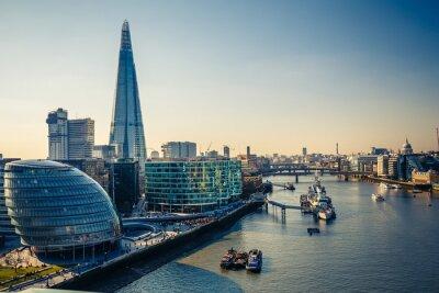 Adesivo Tâmisa e London City