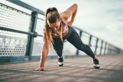 Adesivo Tantos benefícios do exercício ao ar livre