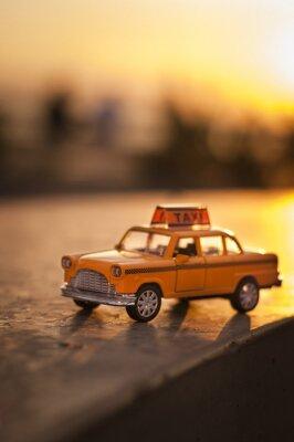 Adesivo Táxi amarelo