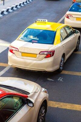 Adesivo Táxi em Dubai