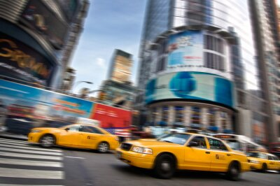 Adesivo Táxis - Nova York, EUA