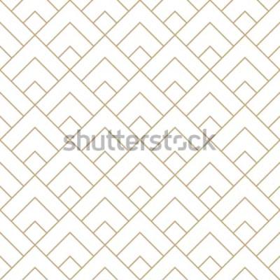 Adesivo telha de diamante geométrica padrão de vetor gráfico mínimo