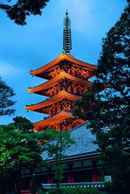 Adesivo Templo de Tóquio