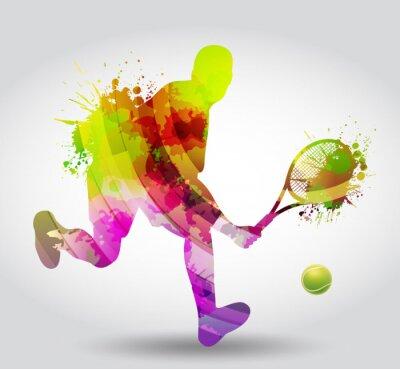 Adesivo Ténis, Competizione, torneo