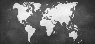Adesivo Terra, mapa, fundo