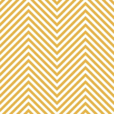 Adesivo Teste Padrão Amarelo Do Ziguezague. Fundo da onda no vetor