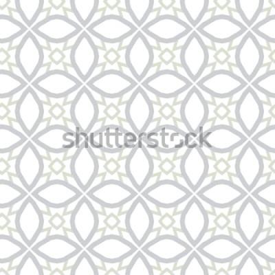 Adesivo Textura de fundo abstrato em estilo ornamental geométrico. Design sem emenda.