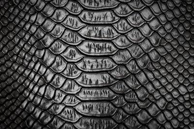 Adesivo Textura de padrão de pele de cobra preta
