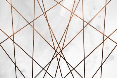 Adesivo Textura feminina de luxo. Cenário delicioso e limpo, com elementos geométricos e artísticos.