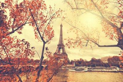Adesivo The eiffel tower in paris