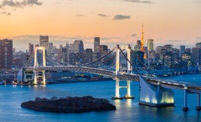 Adesivo Tokyo Tower Rainbow Bridge