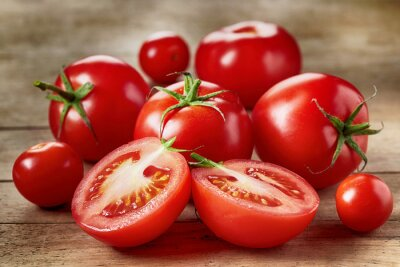 Adesivo Tomates vermelhos frescos