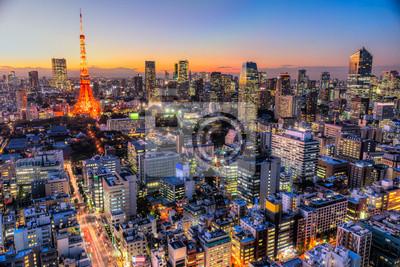 Adesivo Tóquio, Japão.