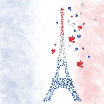 Adesivo Torre Eiffel de Paris
