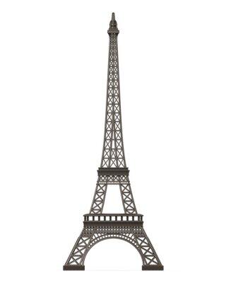 Adesivo Torre Eiffel isolada