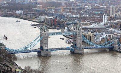 Adesivo Torre, ponte, rio, thames, londres