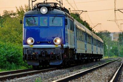 Adesivo transporte ferroviário