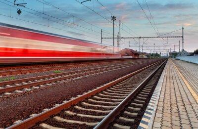 Adesivo Treinar velocidade na estação