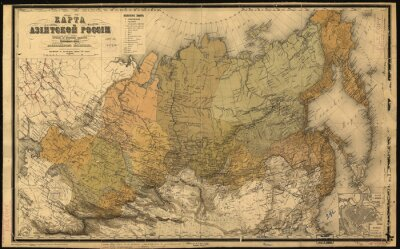 Adesivo União Soviética, URSS, mapa
