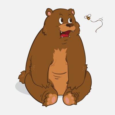 Adesivo Urso marrom