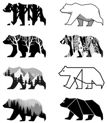 Adesivo Ursos