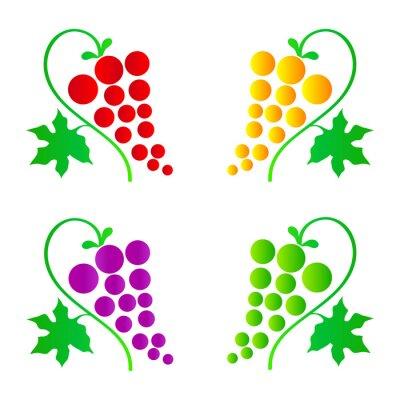 Adesivo uvas