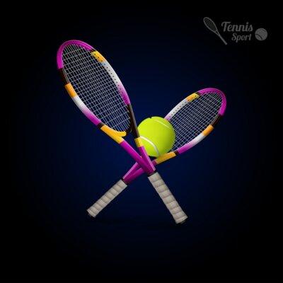 Adesivo Vector, tênis, SÍMBOLOS, desenho, elementos, tênis, Bolas ...