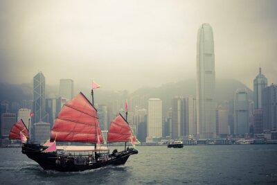 Adesivo veleiro estilo chinês em Hong Kong
