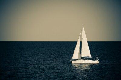 Adesivo Veleiro no mar