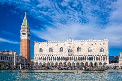 Adesivo Veneza com Praça de São Marcos em Itália