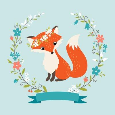 Adesivo Verão raposa