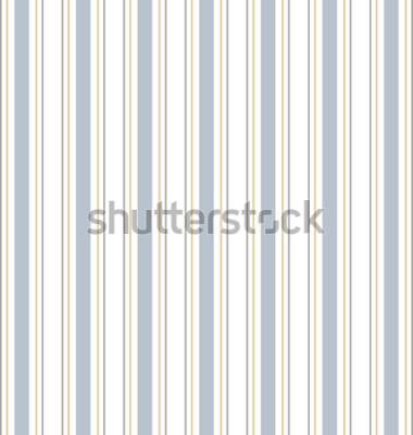 Adesivo Vetor abstrato listrado padrão sem emenda com listras coloridas. Fundo pastel colorido