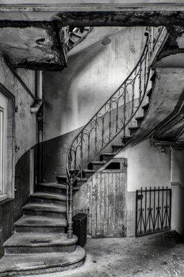 Adesivo vétuste escalier
