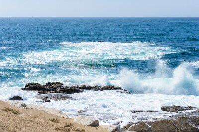 Adesivo vista das ondas no oceano