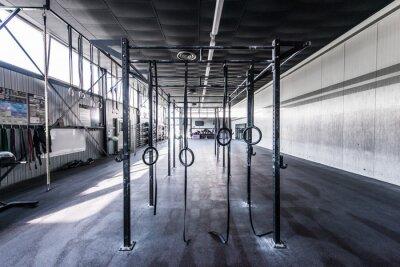 Adesivo Vista direta crossfit gym com sol
