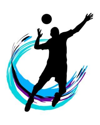 Adesivo Voleibol - 89