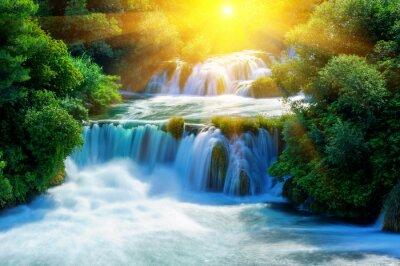 Adesivo Waterfalls Krka