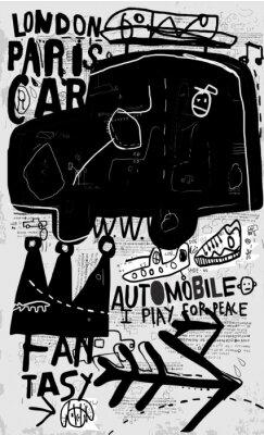 Adesivo Машина