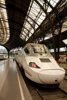 Adesivo Alvia estação de trem na França, Barcelona, Espanha