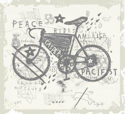 Adesivo Велосипед