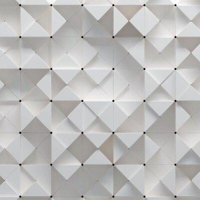 Fotomural 3d ilustração do padrão geométrico