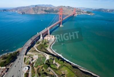 Fotomural A Golden Gate Bridge, na baía de San Francisco