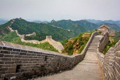 Fotomural A Grande Muralha, Pequim, China