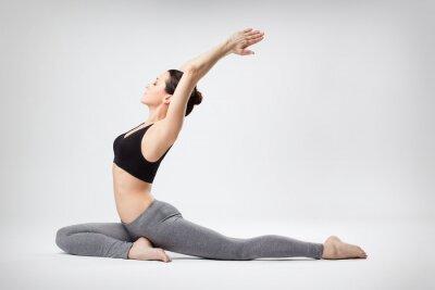 Fotomural a mulher yoga