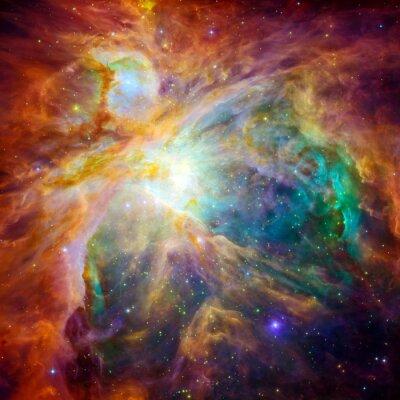 Fotomural A nuvem cósmica chamada Nebulosa de Orion