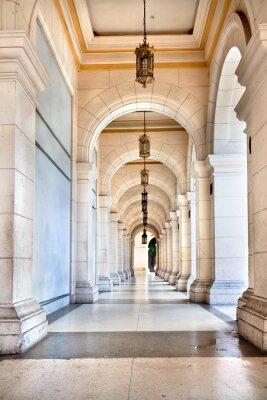 Fotomural A passagem do famoso Palácio de Cuba, hoje é museu