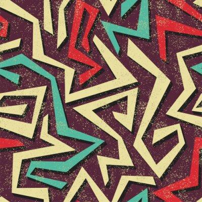 Fotomural Absract seamless graffiti. Vetor