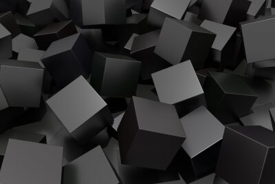 Fotomural Abstract cube