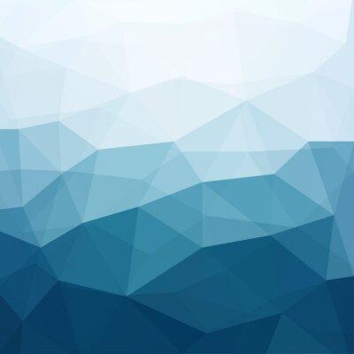 Fotomural abstrato azul
