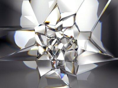 Fotomural abstrato claro fundo de cristal